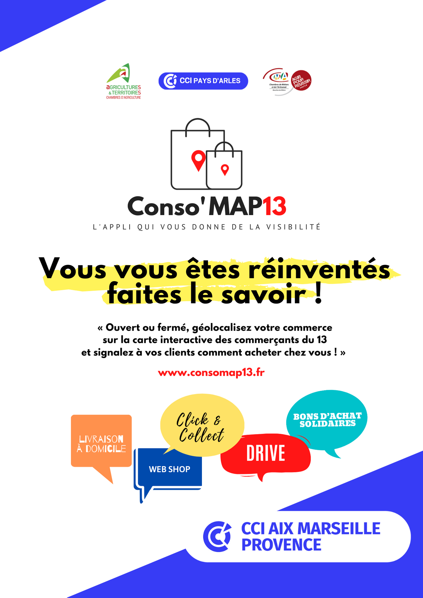 affiche conso map 13