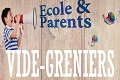 vide grenier ecole et parents